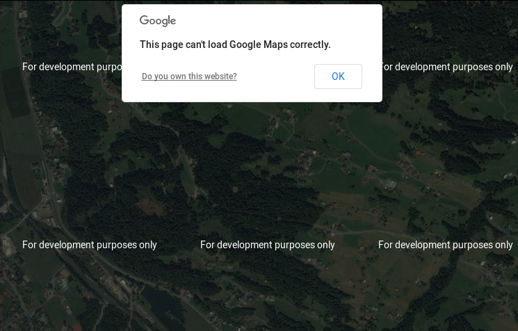 What map engine choose when Google Maps crashed? 3 best alternatives