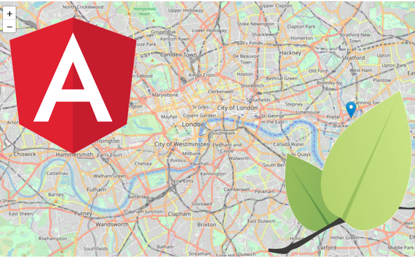 Use Leaflet in your Angular 8 project for interactive maps