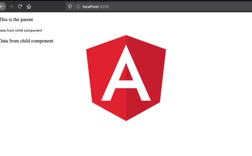 Passing data between Angular components with @Output and EventEmitter