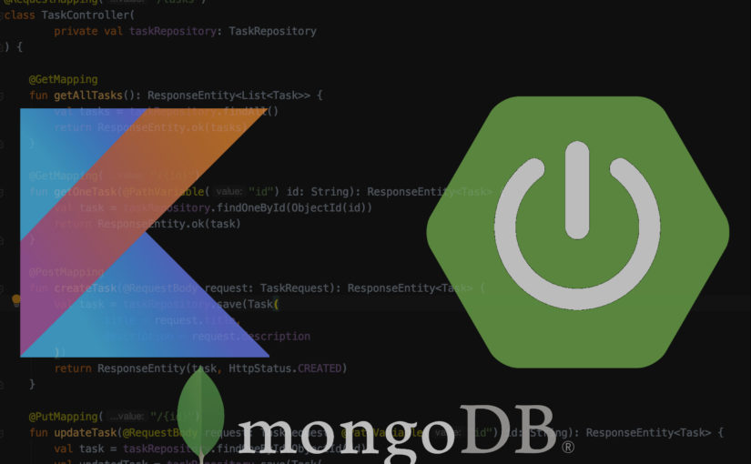 REST API with Spring Boot and MongoDB using Kotlin